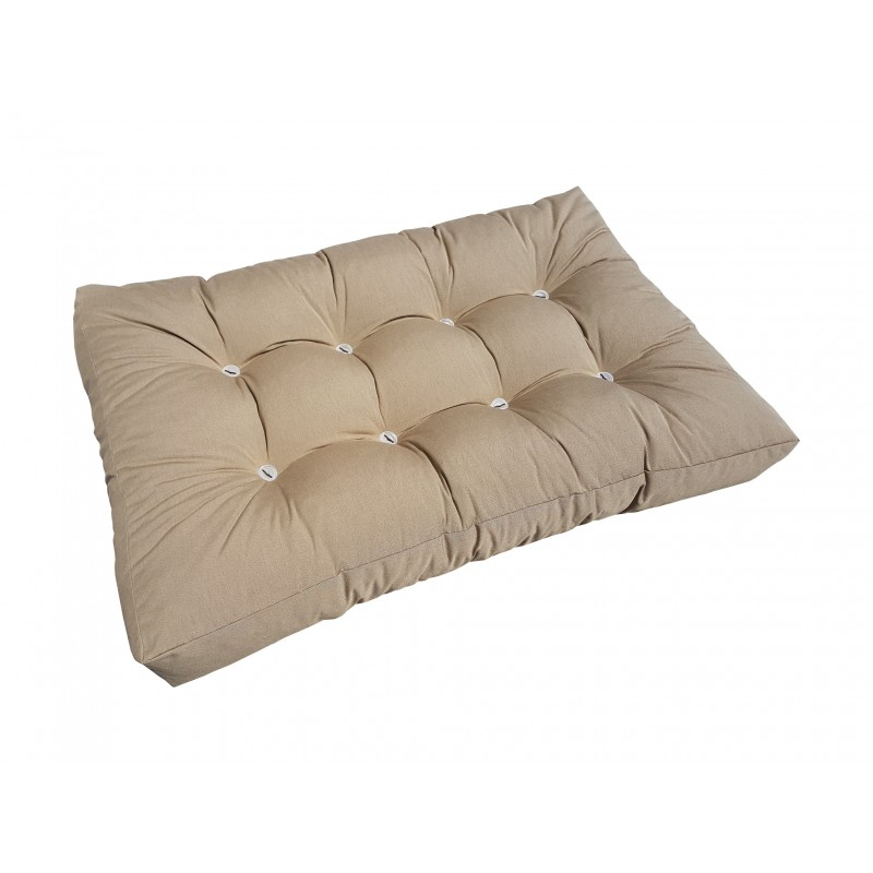 Pallet Seating Cushions Set Light Brown Natalia Sp Z Oo