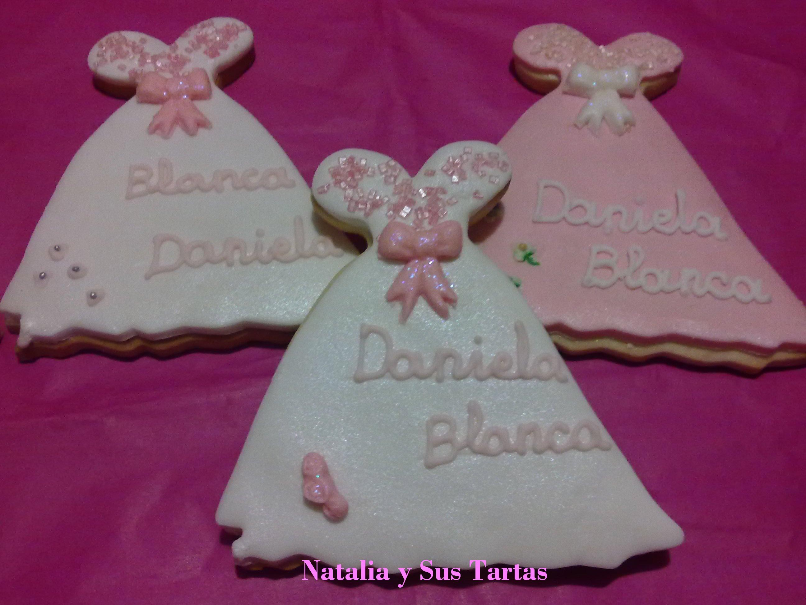 Galletas Decoradas De Princesas Galletas Decoradas Vestido De Princesa Natalia Y Sus Tartas