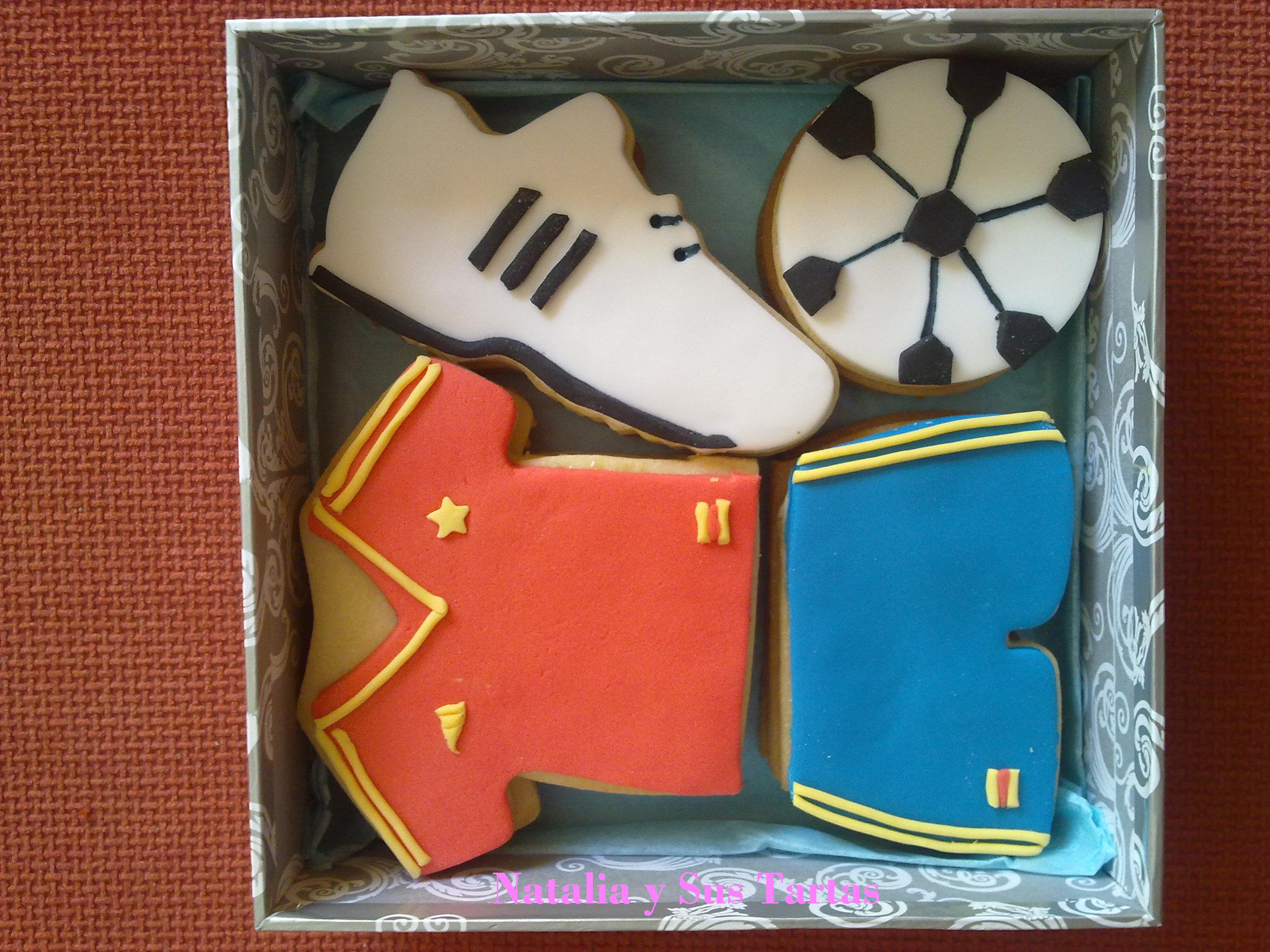 Galletas Decoradas Madrid Futbol | Natalia Y Sus Tartas