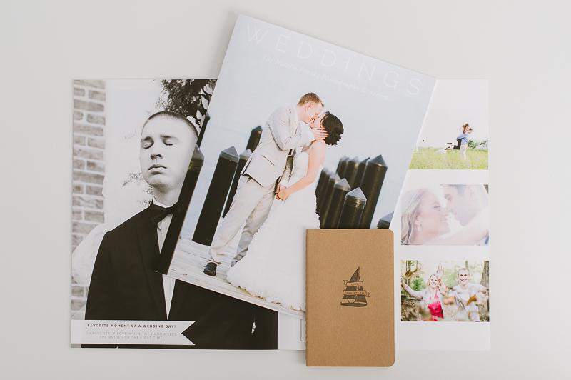 Wedding Welcome Packet  Magazine \u2014 Natalie Franke