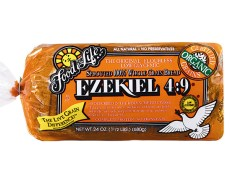 ezekiel bread, homemade, recipe, make at home, bread machine