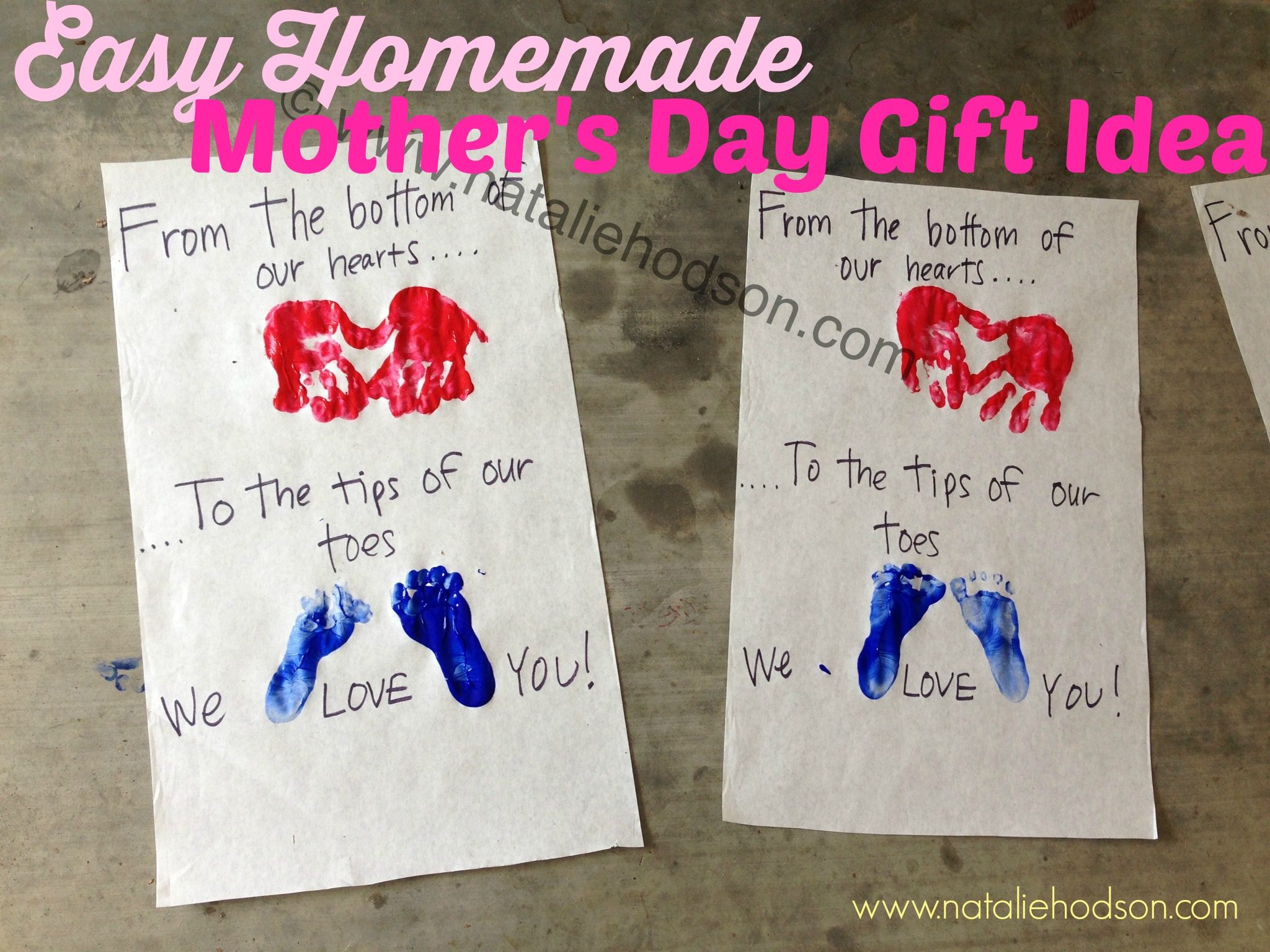 Diy Mothers Day Gifts For Grandma Easy Homemade Mother 39s Day Gift Idea Natalie Hodson