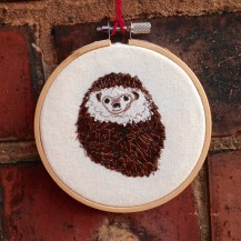 freehand machine embroidery, wall art, ncsrandalltextiles, appliqué, sewing, stitch, embroidery hoop, textile art