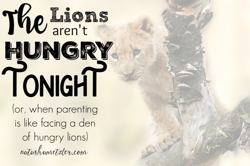 The Lions aren't hungry tonight