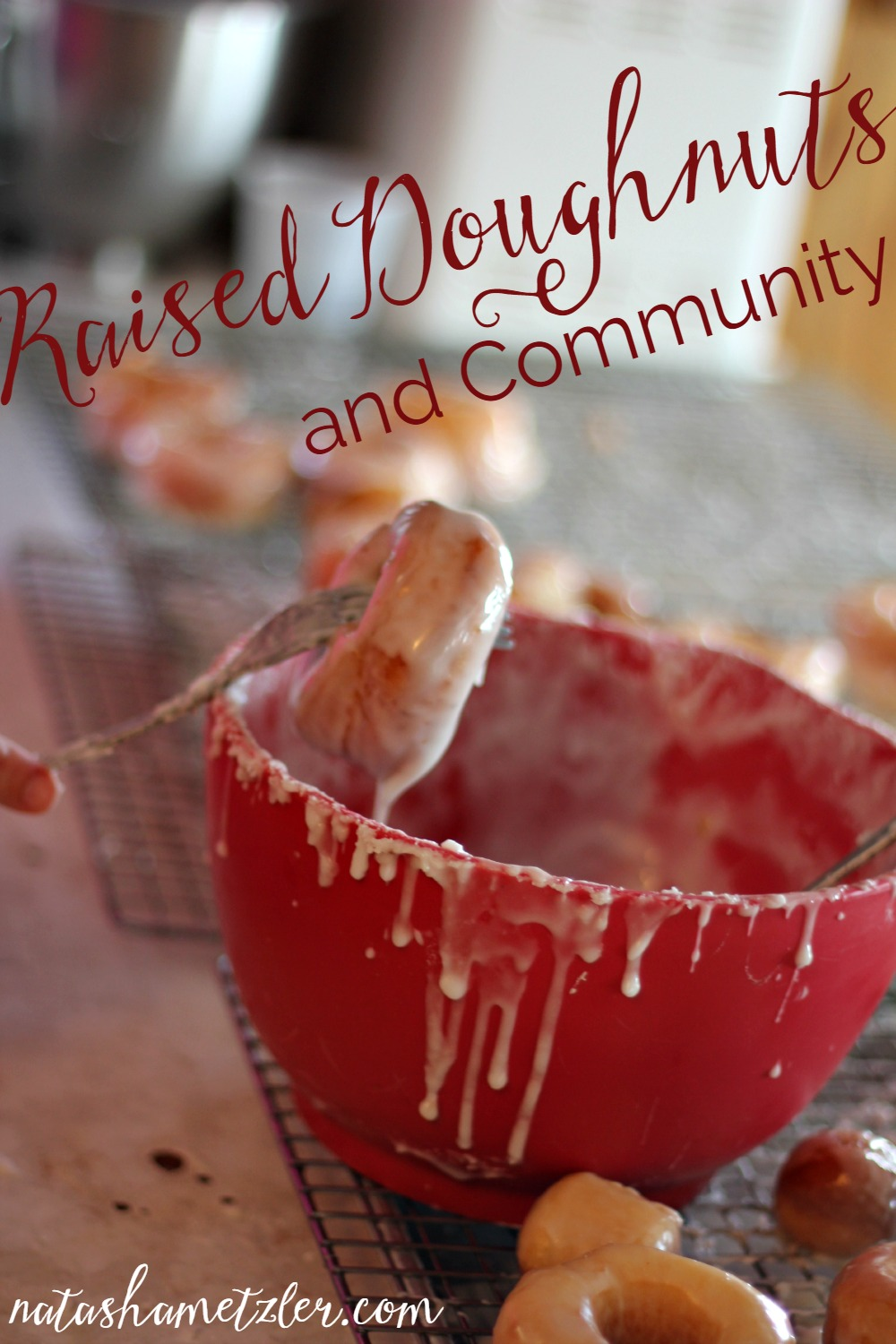 raised doughnuts and community
