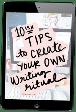 10-Tips-Create-Writing-Ritual