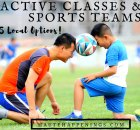 35+ active classes and sports teams in the Terre Haute area!