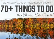 Things to do this fall in Terre Haute and the Wabash Valley