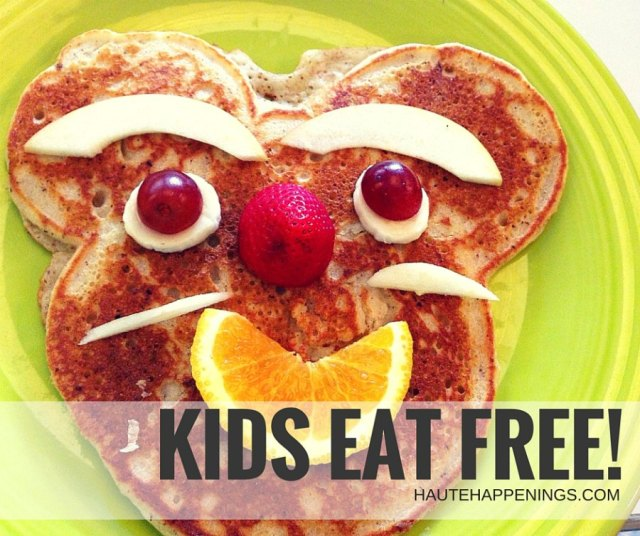 Check out this list of places where kids eat free in Terre Haute and the Wabash Valley!