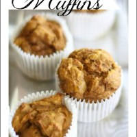 Easy, Healthy Pumpkin Muffin Recipe--No Oil!