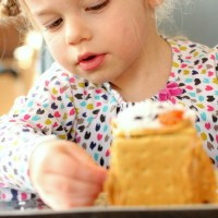 Gingerbread house decorating makeover! All the fun without the sugar crash.