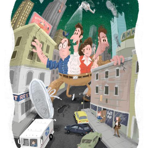 Seinfeld Print
