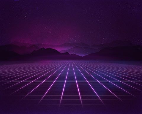 3d Futuristic Wallpapers Rad Pack 80 S Themed Hd Wallpapers Nate Wren Graphic
