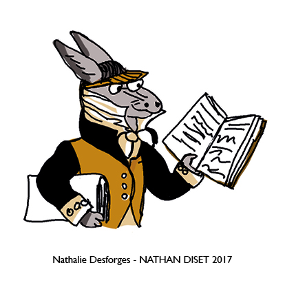 Nathalie Desforges jeu de cartes orthographe - Nathan Diset56