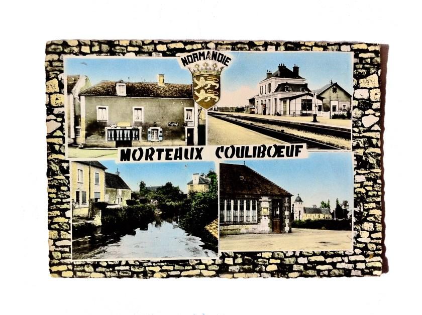 027.Morteaux couliboeuf carte postale 2