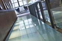 Glass Stair Treads Glass Flooring | Thick Glass Floors ...