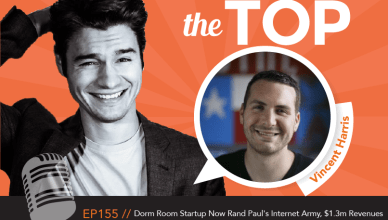 Vincent Harris The Top Podcast Episode 155