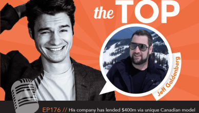 Jeff Goldenberg The Top Podcast Episode 176