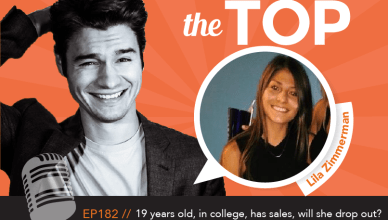 Lila Zimmerman The Top Podcast Episode 182