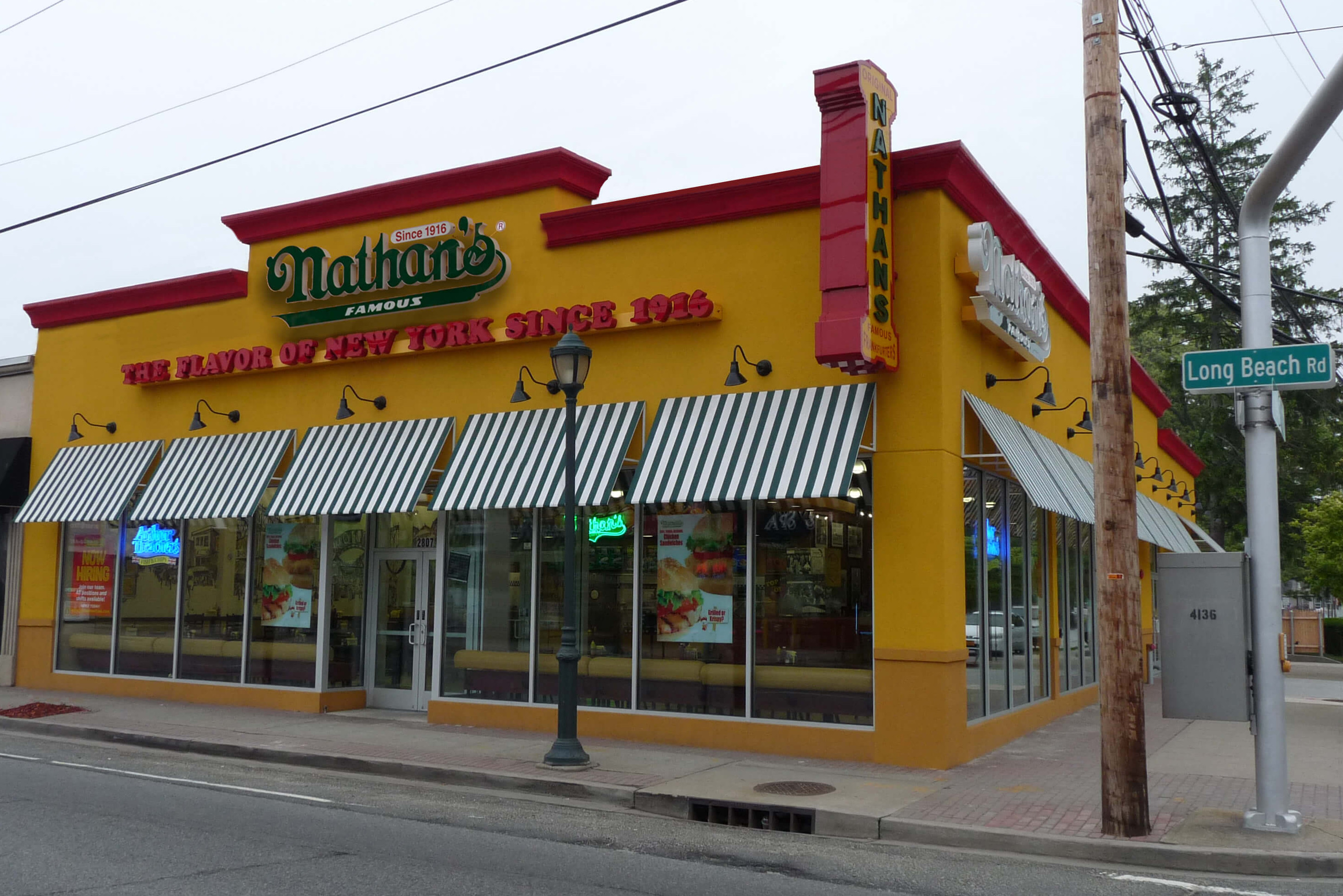 Restaurant Supply Long Island Nathan 39s Restaurant Locations Nathans Famous