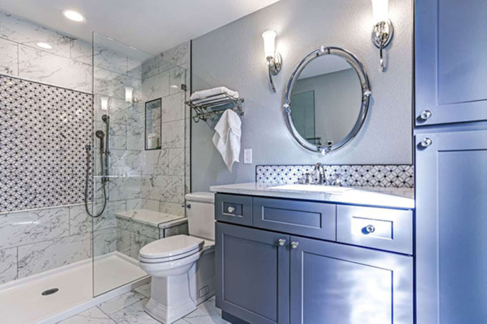 Instal Bathroom Cabinets To Infuse Style Personality Nation