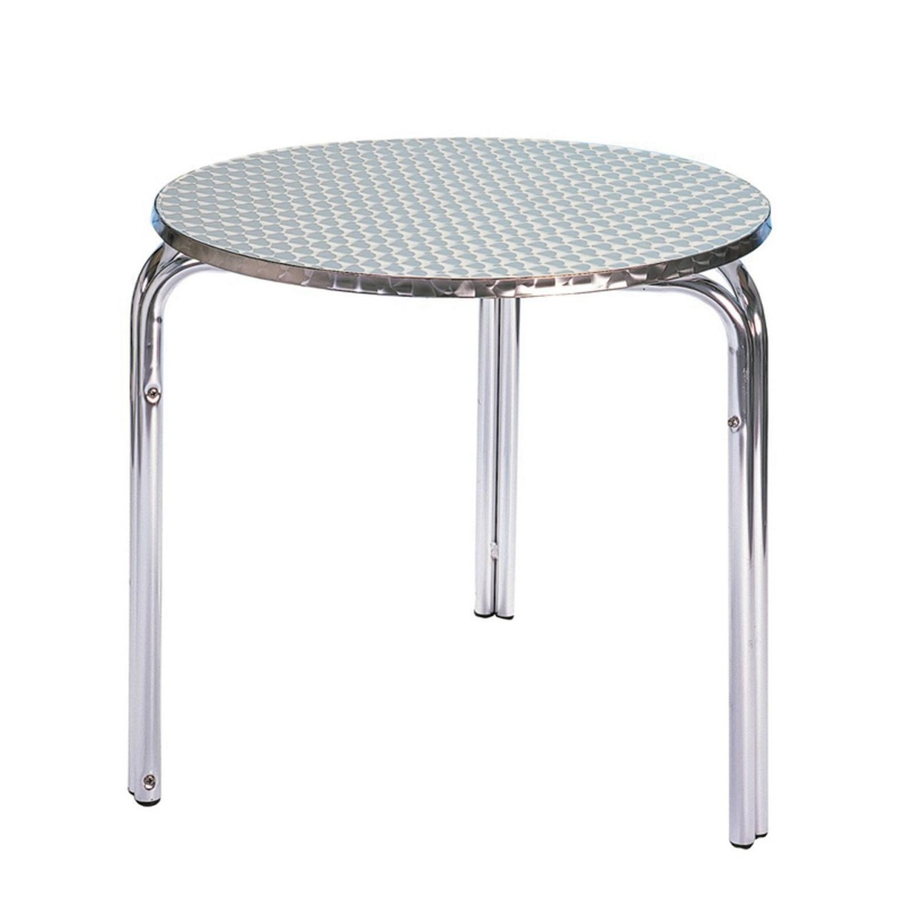 Table Bistrot Aluminium Stackable Aluminium Table National Event Hire