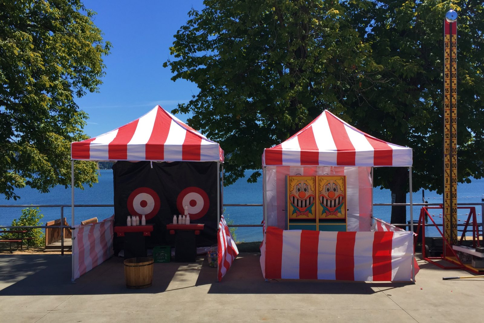 Large Frame For Photo Booth Carnival Game Booth Rental — National Event Pros