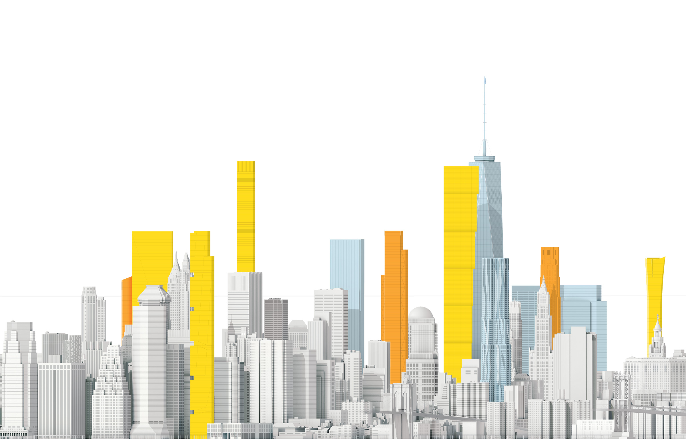 What New York Could Look Like In 2020 National Geographic - Vorhang New York Skyline