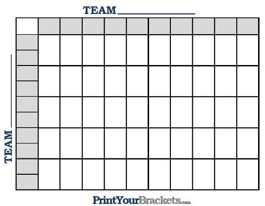 free football square template - Ukransoochi - football pool template