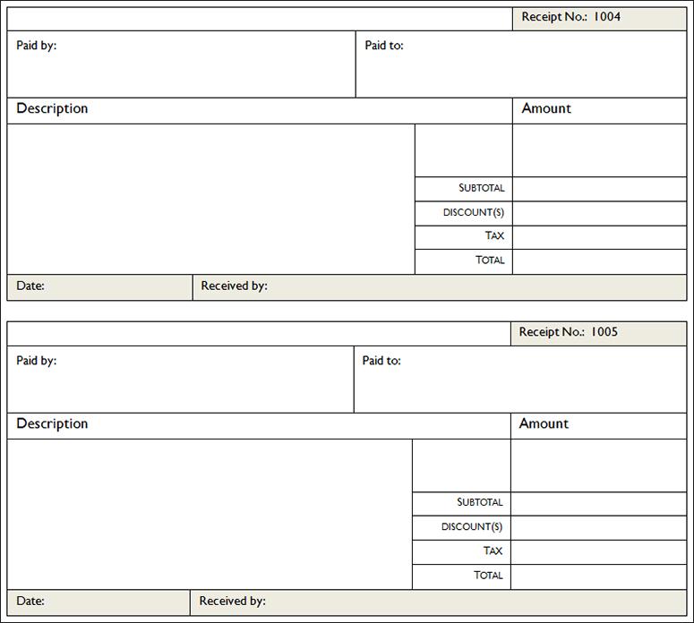 donation receipt template word - Yenimescale