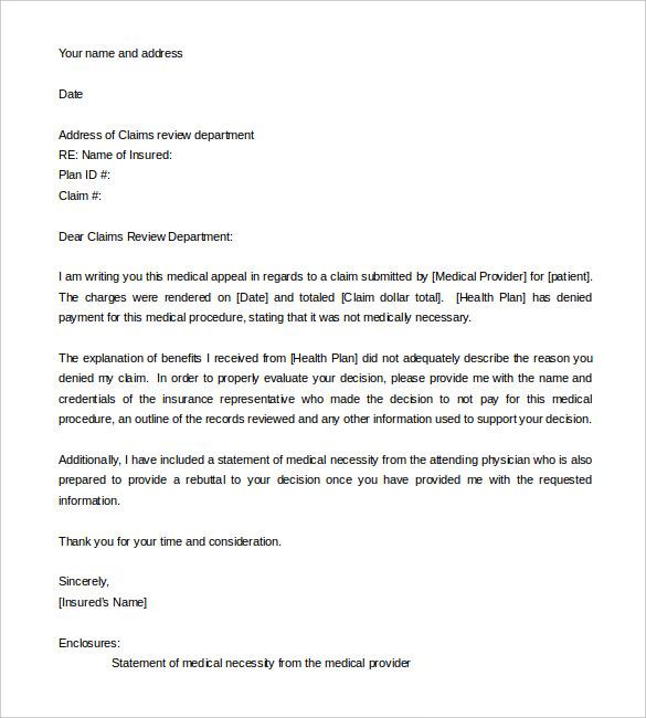 medical letter formats - Acurlunamedia - letter of medical necessity form