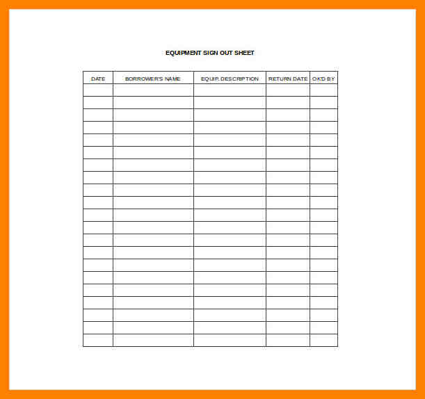 Attendance Sheet Excel Template Business - attendance sheet excel template
