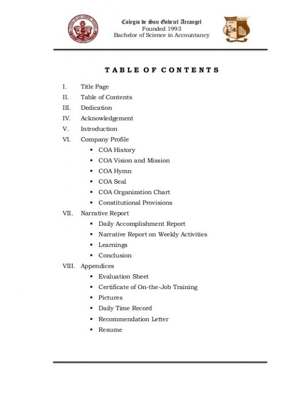 Audit Report Sample Template Business