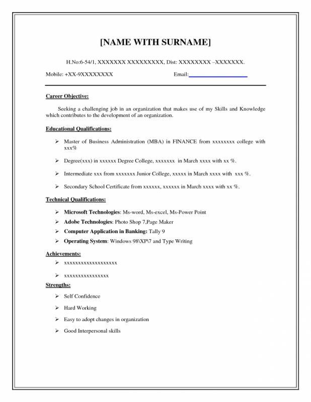 easy resume template - Akbagreenw