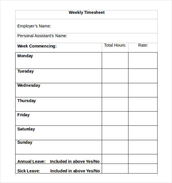 Bi Weekly Timesheet Template Template Business - bi weekly timecard with lunch