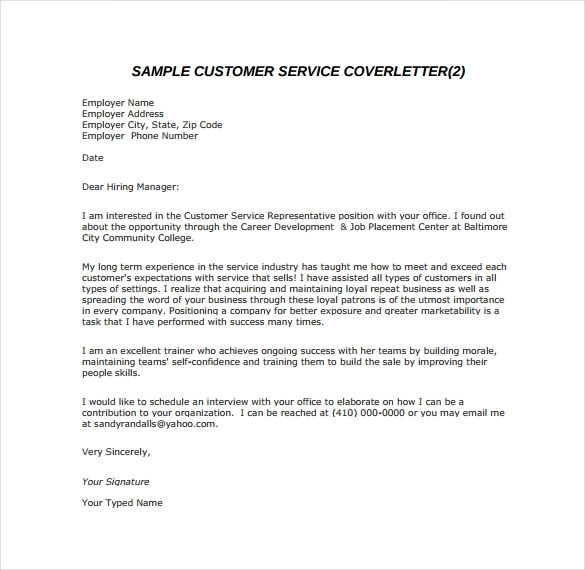 Biotech Cover Letter Template Business