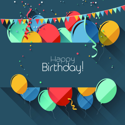 word happy birthday template xv-gimnazija