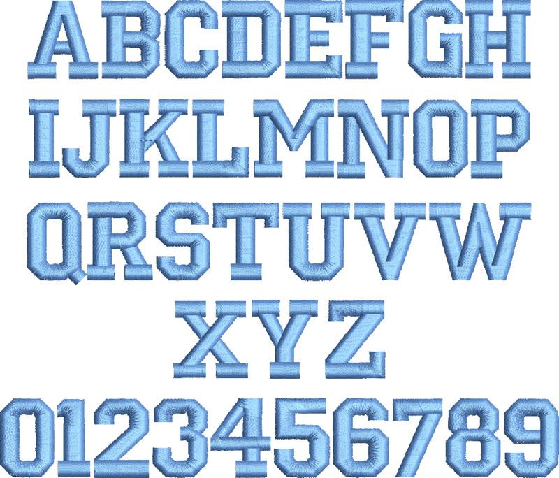 Monogram Block Letters Letter Monogram Stacked Block Stacked