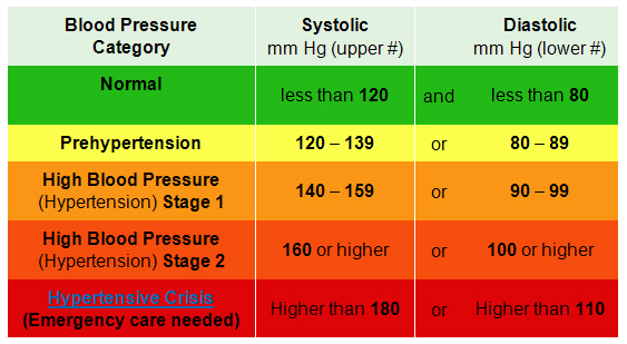 Blood Pressure Record Charts Template Business