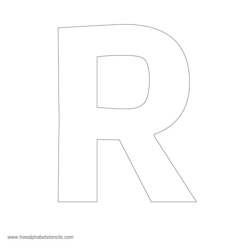 Bubble Letter Stencils Template Business