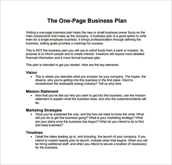Business Plan Sample Pdf Template Business - marketing business plan template