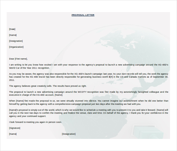 Business Proposal Template Word Template Business