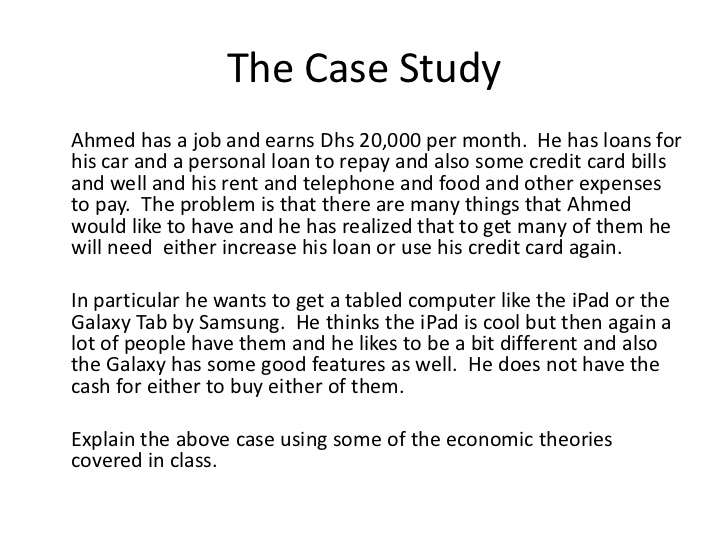 Case Study Format Template Business