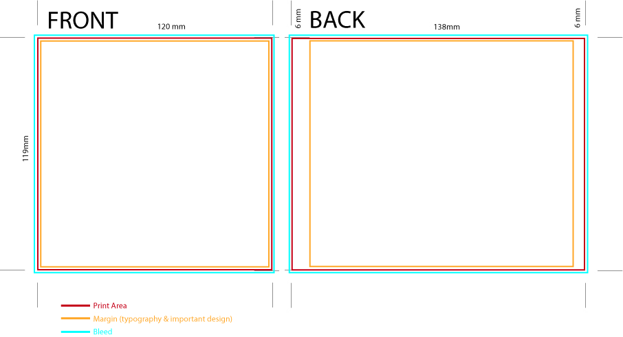 Cd Case Template Template Business