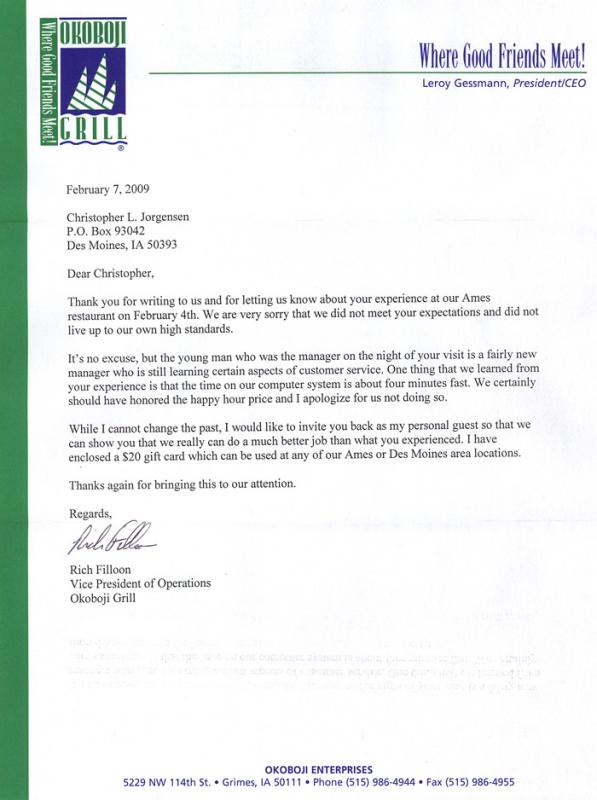 Complaint Letter Formats Template Business - letter formats