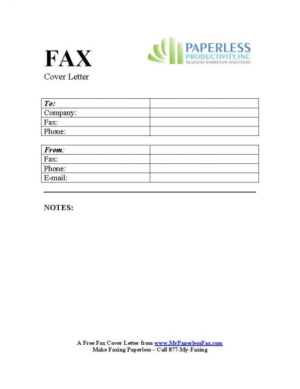Confidential Fax Cover Sheet Template Business