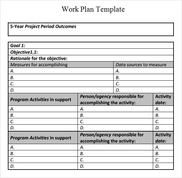 Construction Schedule Template Excel Free Download Template Business - construction work schedule templates free