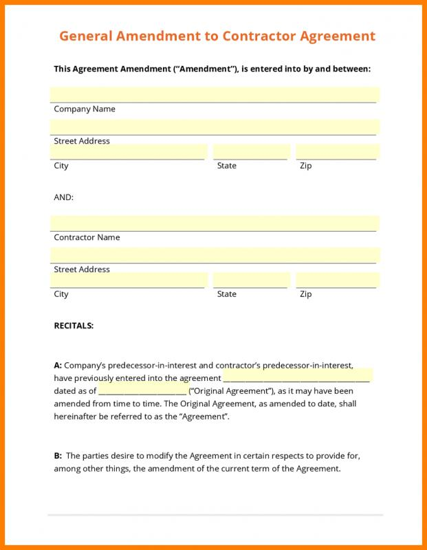 Contractor Proposal Template Template Business