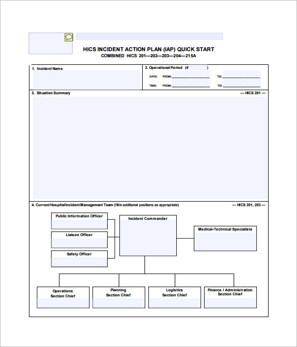 Corrective Action Plan Example Template Business