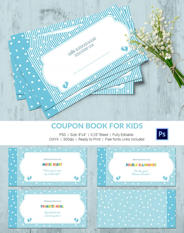 Coupon Book Template Template Business - free coupon book template